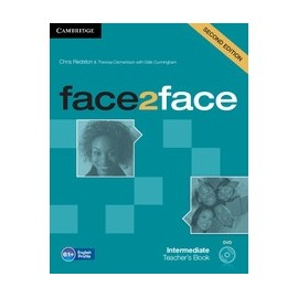 face2face Intermediate Second Ed. Teacher's Book + DVD