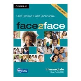 face2face Intermediate Second Ed. Class Audio CDs