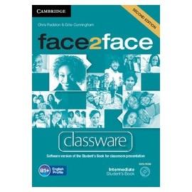 face2face Intermediate Second Ed. Classware DVD-ROM