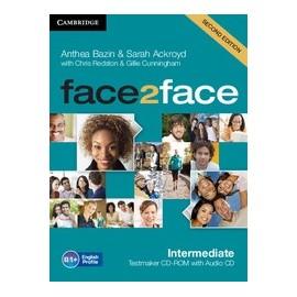 face2face Intermediate Second Ed. Testmaker CD-ROM + Audio CD