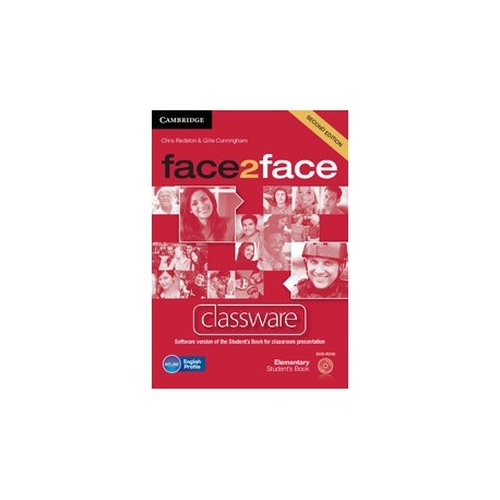 face2face Elementary Second Ed. Classware DVD-ROM Cambridge University Press 9781107628373