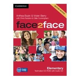 face2face Elementary Second Ed. Testmaker CD-ROM + Audio CD