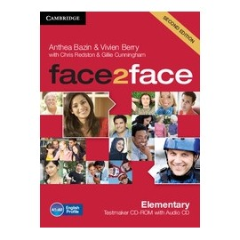 face2face Elementary Second Ed. Testmaker CD-ROM + Audio CD
