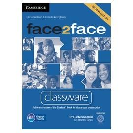 face2face Pre-intermediate Second Ed. Classware DVD-ROM