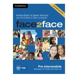 face2face Pre-intermediate Second Ed. Testmaker CD-ROM + Audio CD