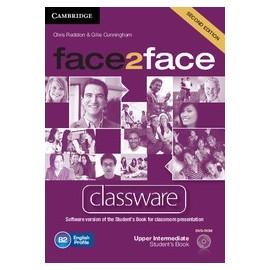 face2face Upper-Intermediate Second Ed. Classware DVD-ROM