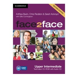 face2face Upper-Intermediate Second Ed. Testmaker CD-ROM + Audio CD
