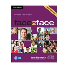 face2face Upper-Intermediate Second Ed. Student's Book + DVD-ROM + Online Workbook Pack