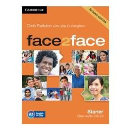 face2face Starter Second Ed. Class Audio CDs