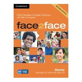 face2face Starter Second Ed. Testmaker CD-ROM + Audio CD