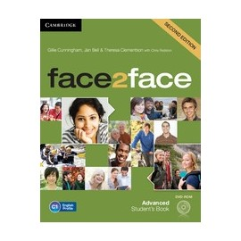 face2face Advanced Second Ed. Student's Book + DVD-ROM