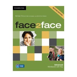 face2face Advanced Second Ed. Workbook with Key
