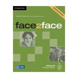 face2face Advanced Second Ed. Teacher's Book + DVD