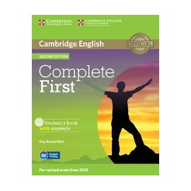Complete First Second Edition Student's Book with answers + CD-ROM