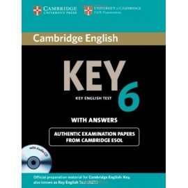 Cambridge English Key 6 Self-study Pack (Student's Book with answers + audio CDs)