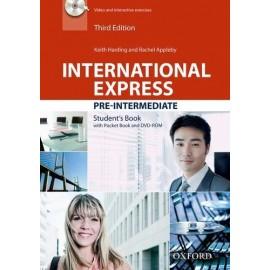 International Express Pre-Intermediate Third Edition Student's Book + Pocket Book + DVD-ROM
