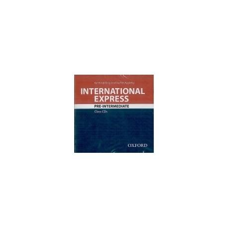 International Express Pre-Intermediate Third Edition Class Audio CDs Oxford University Press 9780194597517