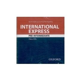 International Express Pre-Intermediate Third Edition Class Audio CDs