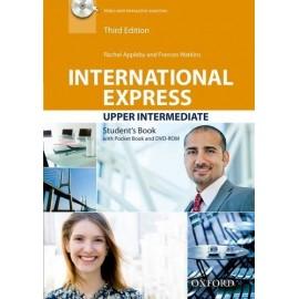 International Express Upper-Intermediate Third Edition Student's Book + Pocket Book + DVD-ROM