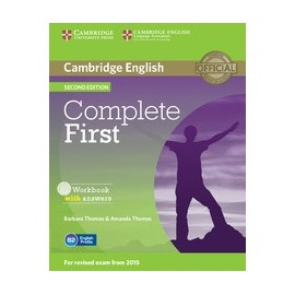 Complete First Second Edition Workbook with answers + Audio CD