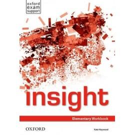 Insight Elementary Workbook + Online Practice