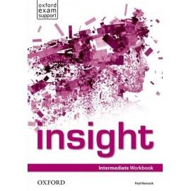 Insight Intermediate Workbook + Online Practice