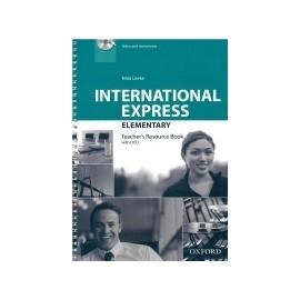 International Express Elementary Third Edition Teacher's Book + DVD