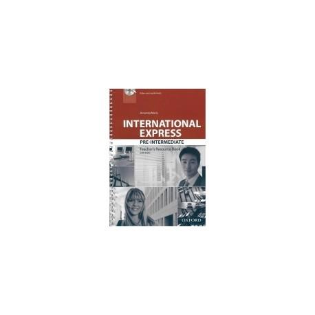 International Express Pre-Intermediate Third Edition Teacher's Resource Book + DVD Oxford University Press 9780194597715