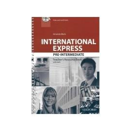 International Express Pre-Intermediate Third Edition Teacher's Resource Book + DVD