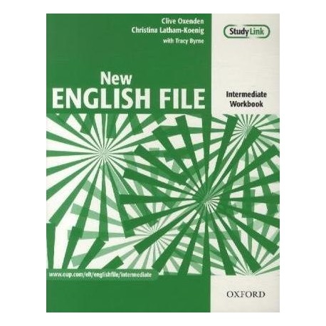 New English File Intermediate Workbook without Key Oxford University Press 9780194518048