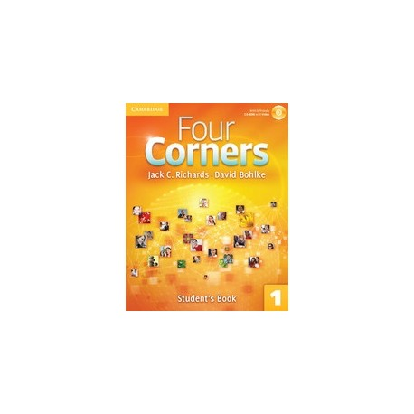 Four Corners 1 Student's Book + Self-study CD-ROM Cambridge University Press 9780521126151