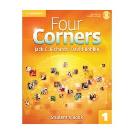 Four Corners 1 Student's Book + Self-study CD-ROM