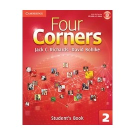 Four Corners 2 Student's Book + Self-study CD-ROM