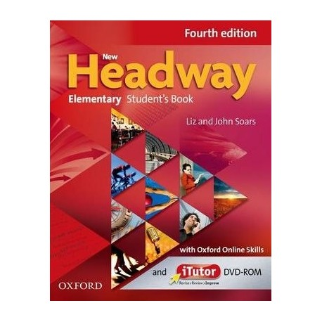 New Headway Elementary Fourth Edition Student's Book + Online Skills Practice Oxford University Press 9780194772723