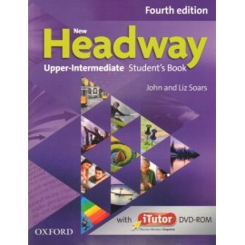 New Headway Upper-Intermediate Fourth Edition Student's Book + iTutor DVD-ROM