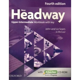 New Headway Upper-Intermediate Fourth Edition Workbook with Key + iChecker CD-ROM