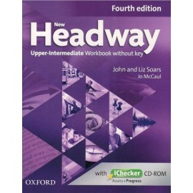 New Headway Upper-Intermediate Fourth Edition Workbook without Key + iChecker CD-ROM