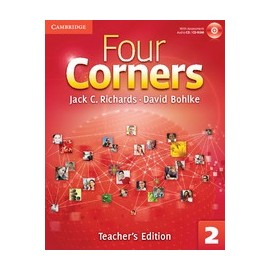 Four Corners 2 Teacher's Edition + Assessment Audio CD/CD-ROM