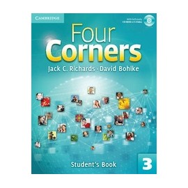 Four Corners 3 Student's Book + Self-study CD-ROM