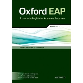 Oxford EAP English for Academic Purposes C1 Advanced Student's Book + DVD-ROM