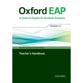 Oxford EAP English for Academic Purposes C1 Advanced Teacher's Handbook + DVD-ROM