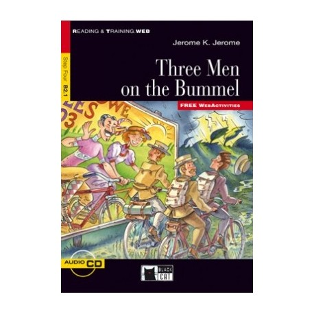 Three Men on the Bummel + CD Black Cat - CIDEB 9788853010964