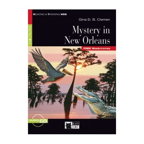 Mystery in New Orleans + CD Black Cat - CIDEB 9788853014153