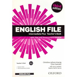 English File Third Edition Intermediate Plus Teacher's Book + CD-ROM