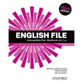 English File Third Edition Intermediate Plus Workbook with Key