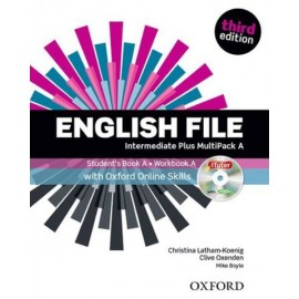 English File Third Edition Intermediate Plus Multipack A + iTutor DVD-ROM + Online Skills Practice
