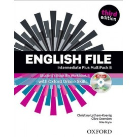 English File Third Edition Intermediate Plus Multipack B + iTutor DVD-ROM + Online Skills Practice