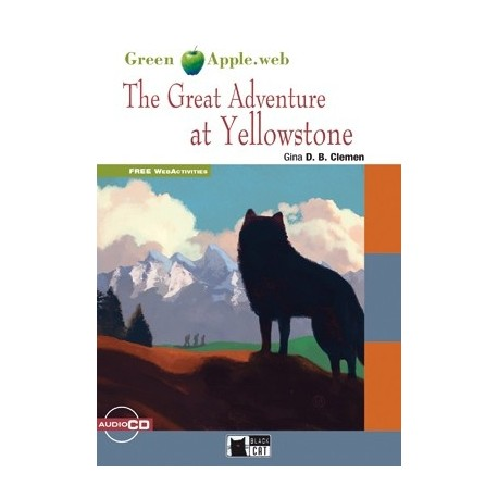 The Great Adventure at Yellowstone + CD Black Cat - CIDEB 9788853014122