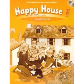 Happy House 1 Third Edition Activity Book Czech Edition + Audio CD