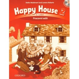 Happy House 2 Third Edition Activity Book Czech Edition + Audio CD
